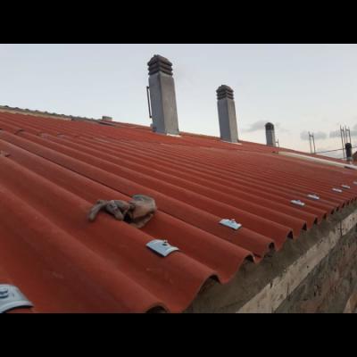 Rehabilitación de cubierta con placas Naturtherm